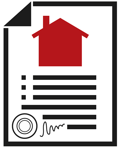 Icon of an inspection report made by our home inspectors